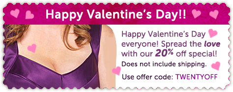 valentines day silcskin coupon