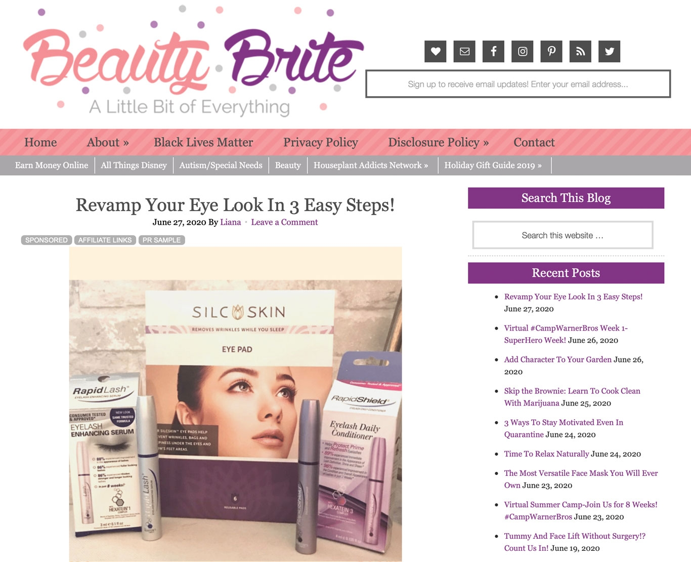SilcSkin and Beauty Brite
