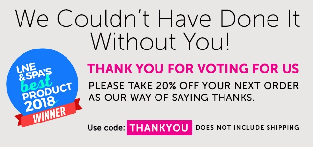 Thank you for voting for us
